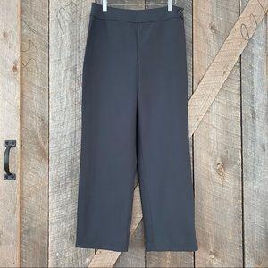 Talbots cotton blend pants, high rise